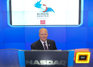 COL David Sutherland rang the NASDAQ Closing Bell